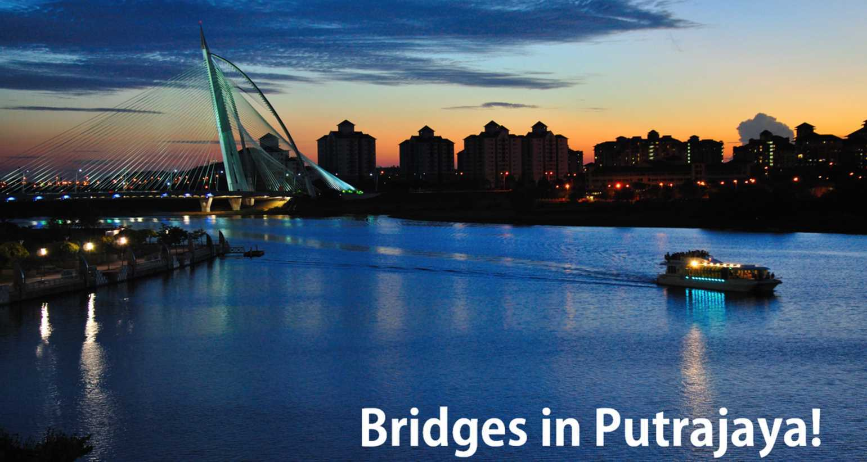 Bridges in Putrajaya Featured Image