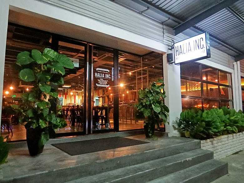 Located By Melaka River Halia Inc Restaurant And Coffee Bar Is An Undergoing Business In Old Warehouse Next To Quayside Hotel